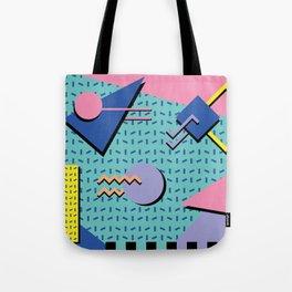 Memphis Pattern 14 - 80s Retro Tote Bag