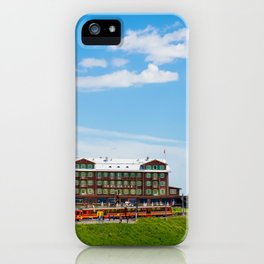 Kleine Scheidegg Railway Station iPhone Case