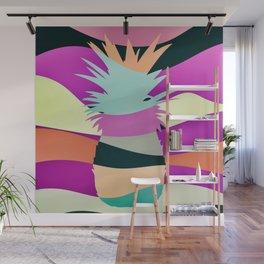 Sliced Abstract Ananas Wall Mural