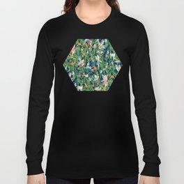 Emerald Fairy Forest Long Sleeve T-shirt