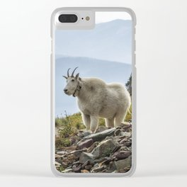 The Ups and Downs of Being A Mountain Goat No. 2a Clear iPhone Case