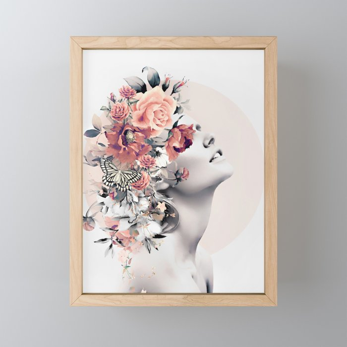 Bloom 7 Framed Mini Art Print