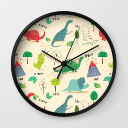 ROOOARSOME!! Wall Clock