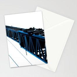 crane blue Stationery Cards