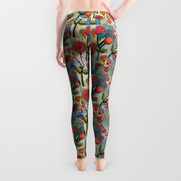 Floral Rhythm Leggings