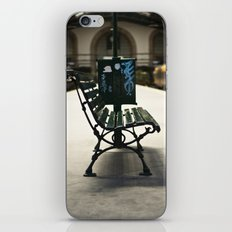 bench iPhone & iPod Skin