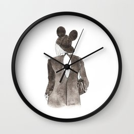 Black in Paris Wall Clock