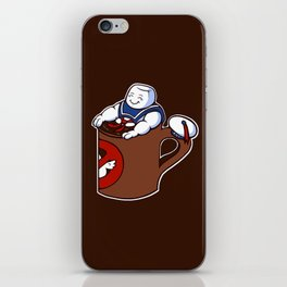 Cup of Stay Puft iPhone Skin