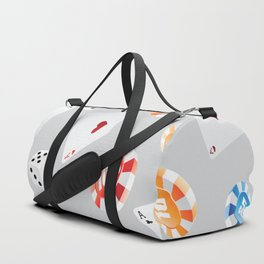 #casino #games #accessories #pattern 8 Duffle Bag