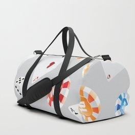 #casino #games #accessories #pattern 8 Duffle Bag