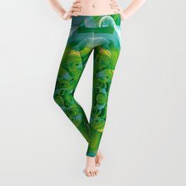 Mandalas of Healing and Awakening 4 Leggings