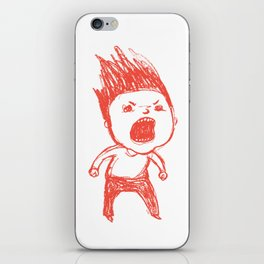 Angry Guy iPhone Skin