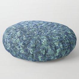 Turquoise Waters Floor Pillow