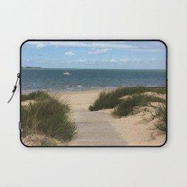 Breezy Seaside Path Laptop Sleeve