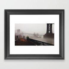 NY Fog Series No.2 Framed Art Print