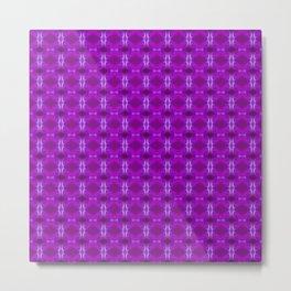 Lights Purple Metal Print
