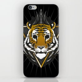 The Blackout Tiger iPhone Skin