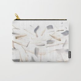 180630 Grey Brown Black Neutral Abstract Watercolour 7 | Watercolor Brush Strokes Carry-All Pouch