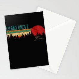 Leland Grove Retro Vintage Custom Funny 80s 90s Stationery Cards