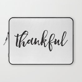 Thankful Laptop Sleeve