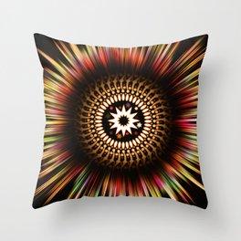 Supernova Explosion Explosive Star Design Throw Pillow