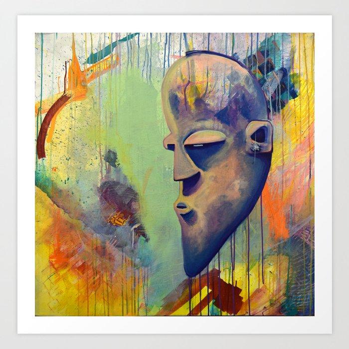 Congo Bling Art Print