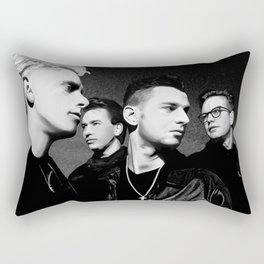 DM : 90's Dave, Alan, Martin, Andy Digitalpaint 2 Rectangular Pillow