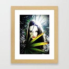 Blue Eyed Framed Art Print