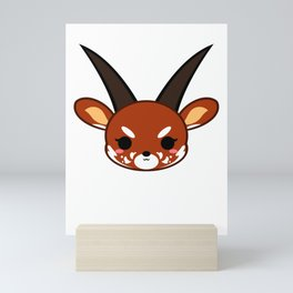 Cute Saola Mini Art Print