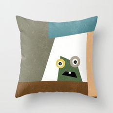 Monster Within  Throw Pillow