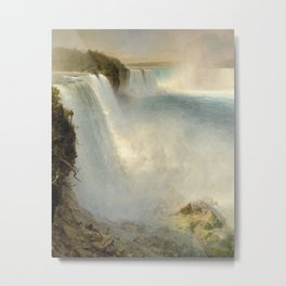Frederic Edwin Church - Niagara Falls Metal Print