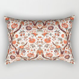 Floral Fabric Vintage Gift Pattern #7 Rectangular Pillow