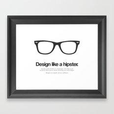 Hipster Designs Framed Art Print