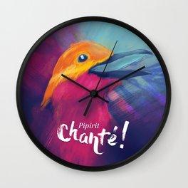 Pipirit chanté - texte Wall Clock