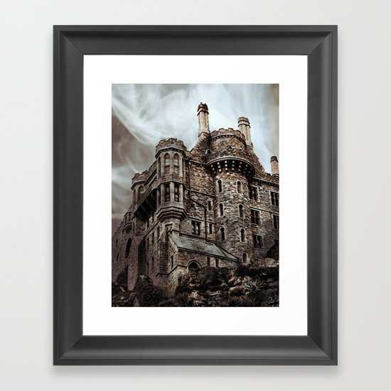 St Michaels castle Framed Art Print