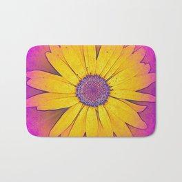 Flower | Flowers | Hippie Daisy | Yellow Daisy | Nature Bath Mat