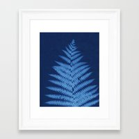 fern Framed Art Prints featuring Fern by Jill Byers