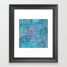 Floral Abstract 10 Framed Art Print