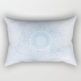 Frosty mandala Rectangular Pillow