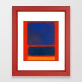 Rothko Inspired #7 Framed Art Print