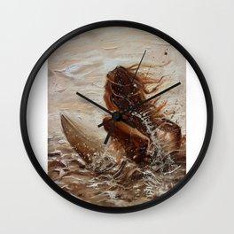 SURFERGIRL Wall Clock