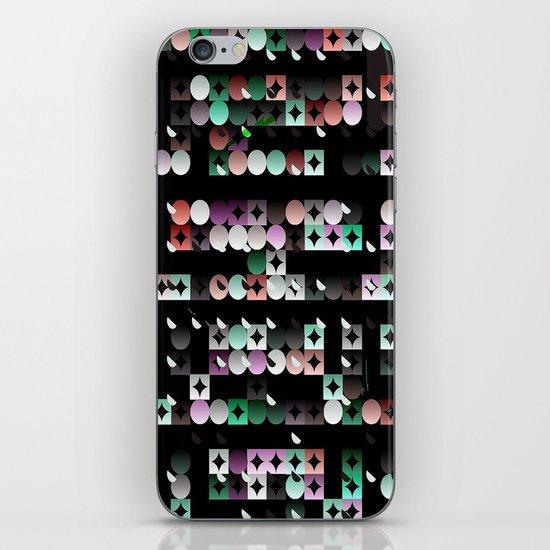 Black Diamonds iPhone & iPod Skin