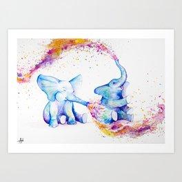 Sorella Art Print