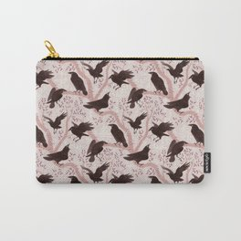 Crows pattern Carry-All Pouch