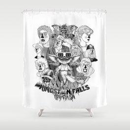 Kingston Falls 1984 Shower Curtain