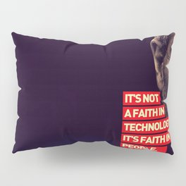 Office SteveJobs Quote Pillow Sham