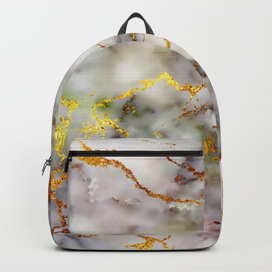Marble Effect #5 Backpack