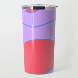 Smug Pastel Kitty Travel Mug