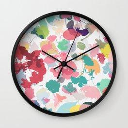 cherry blossom 7 Wall Clock