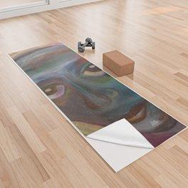 Blues Yoga Towel